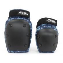 Pack de Protections REKD Heavy Duty Genoux/Coudes Black/Blue