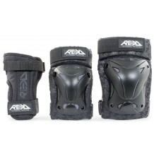 Pack de Protections REKD Recreational Genoux/Coudes/Poignets Black