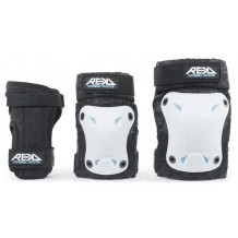 Pack de Protections REKD Recreational Genoux/Coudes/Poignets White