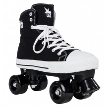 Roller Quad Rookie Canvas High noir