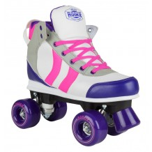 Roller Quad Rookie Deluxe Rose/Gris