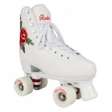 Roller Quad Rookie Rosa White