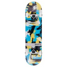 Skate Rocket Distinct Series Abstract 7,75""