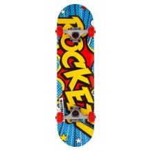 Skateboard Complete Rocket Popart Mini