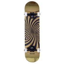 Skate Rocket Twisted Foil Gold 7.5""