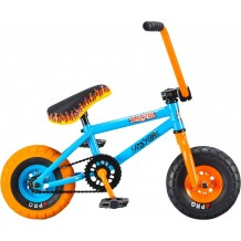 Mini BMX Rocker Mini Bleu Acier Orange