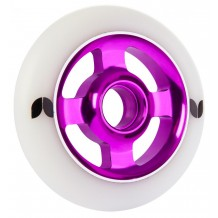 Roue Blazer Stormer 100mm 4 spokes alu white/purple