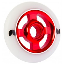 Roue Blazer Stormer 100mm 4 spokes alu white/red