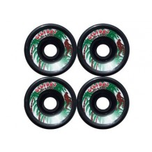 roue BigFoot Paradise noires 70mm 78a