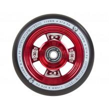 Roue Phoenix Rotor 110mm rouge