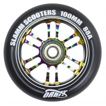 Roue Slamm 100mm Orbit Neochrome