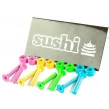 """Visserie Sushi multicolor cruciforme 1"""""""