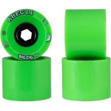 Set de roues Abec11 BigZig HD 75mm vert