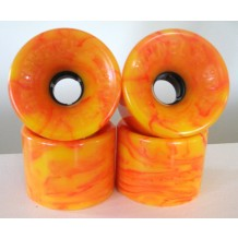 roues Tunnel Tarantula 70mm/78a STR racing orange swirl