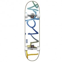 "Skate Tricks Rainbow 7.25"" MC White/Multi"