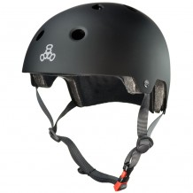 Casque Triple 8 brainsaver double certification noir