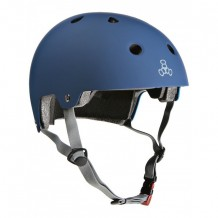 Casque Triple 8 brainsaver double certification navy