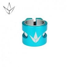 collier de serrage Blunt H Twin double-Turquoise