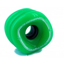 roue Shark Wheel Sidewinder 70mm 78a vertes