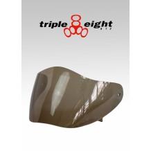 Visière de remplacement teintée pour casque Triple 8 Racer