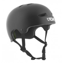 Casque TSG Solid Colors noir satin