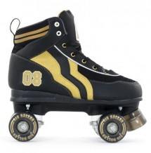 Roller Quad Rio Varsity black Gold