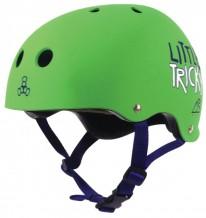 Casque Triple 8 Little Tricky Junior vert