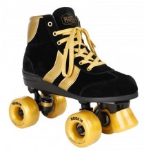 Roller Quad Rookie Authentic black gold