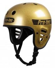 Casque Pro-Tec Full cut Gold Glitter