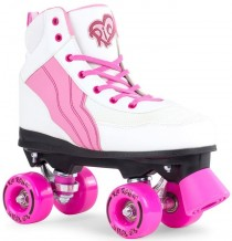 Rio Roller Pure Quad Skates Rose/Blanc