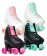 Roller Quad SFR Figure Noir/Menthe